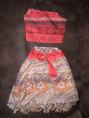 Disney Moana costume for Sale in Grapevine, TX