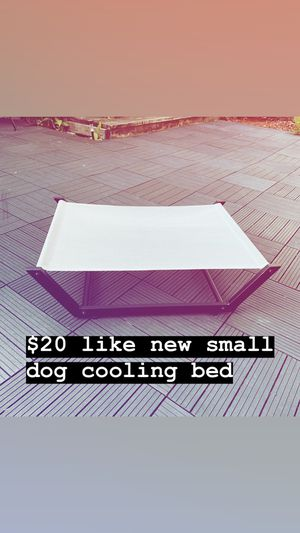 $20 like new small dog cooling bed for Sale in Beaverton, OR