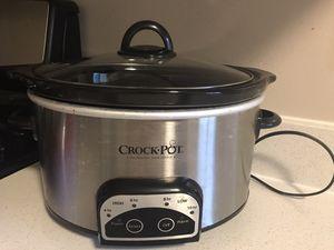 Crock-Pot 6-Quart Slow Cooker for Sale in Bellevue, WA