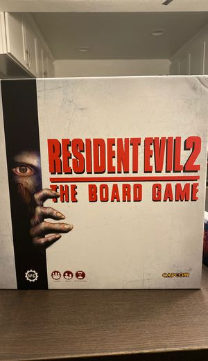 Resident Evil 2: Th Board Game with B-Files Expansion for Sale in Bellevue, WA
