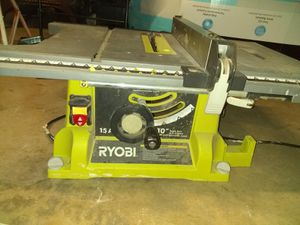 Ryobi table saw for Sale in Bakersfield, CA