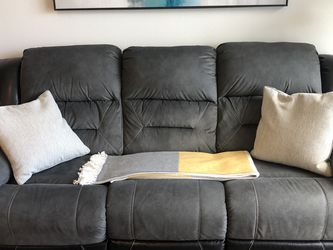 Like New Slate Recliner Sofa - Pet/smoke Free Home for Sale in Aurora,  CO
