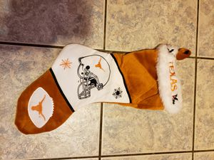 Texas longhorn Christmas stocking for Sale in Tyler, TX