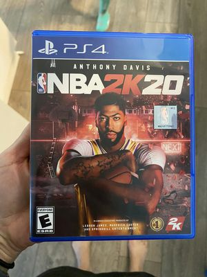Brand new nba 2k 20 2020 playstation 4 ps4 game for Sale in Davie, FL