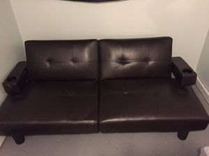 Brown Futon for Sale in Lincoln Park, MI