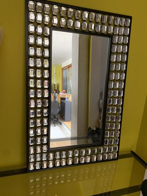 "Large Diamonds metal mirror 22"" X 34"" for Sale in Phoenix, AZ"