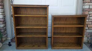 Pair of bookshelves for Sale in Wildomar, CA