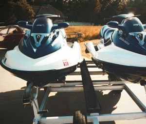 Pair (2)Seadoo GTX155 withTRAILER! for Sale in Coatesville, PA
