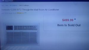 Air Conditioner 12k BTU for Sale in Boston, MA