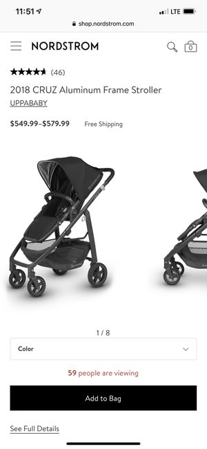 Uppababy cruz for Sale in Fremont, CA