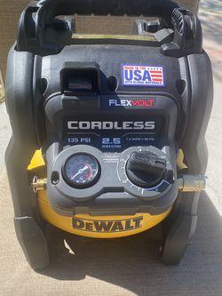 Like New Dewalt 60v Air Compressor for Sale in Lake Wales,  FL