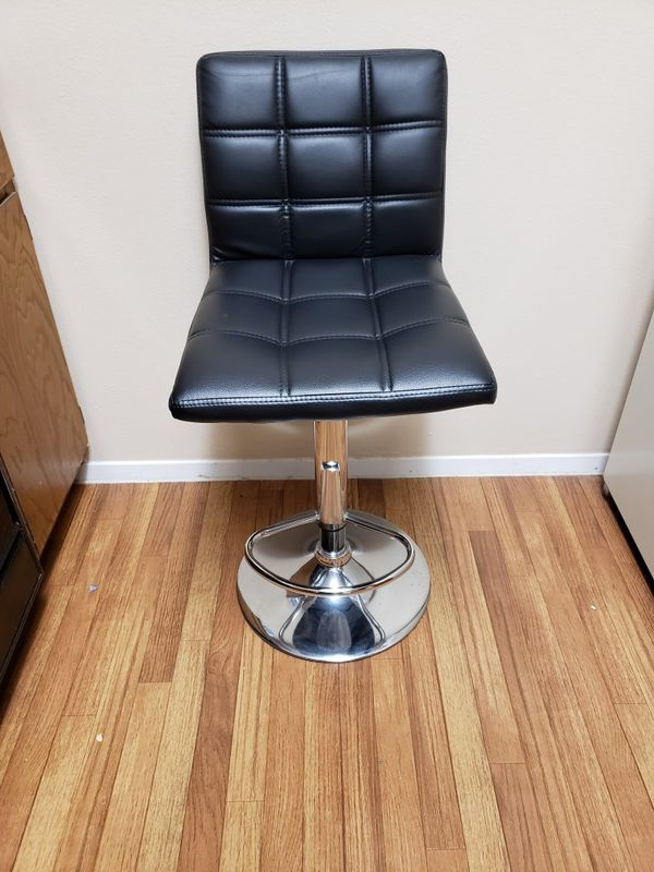 2 Adjustable Stools with backrest