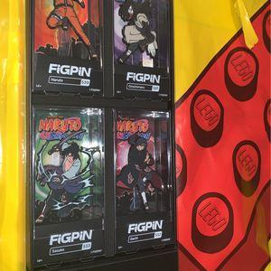 Figpin Naruto Shippuden 4 Pack Naruto 530 Orochimaru 531 Itachi 532 Sasuke 533 for Sale in Damascus, OR
