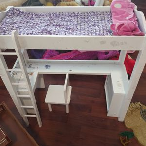 Doll Bed And Farm House Real Wood for Sale in Hollywood, FL