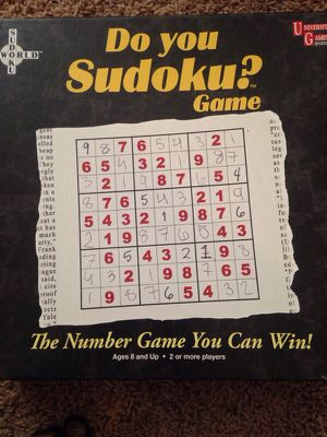 Sudoku Game for Sale in Maple Heights, OH