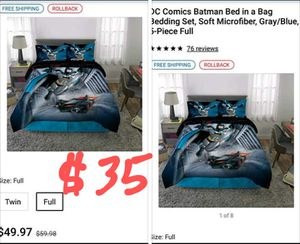 NEW FULL Spider-Man bed in a bag for Sale in Spring, TX