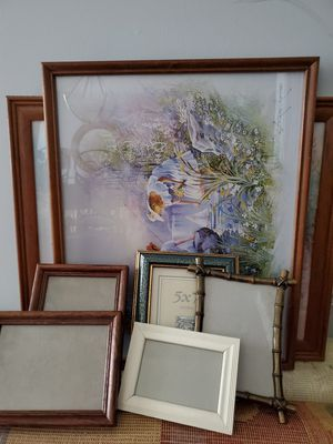 7 Picture frames $1 each for Sale in Raleigh, NC