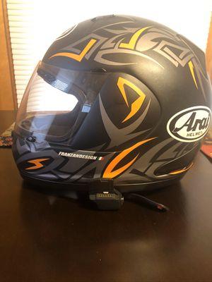 Arai Helmet Rx-Q Groove Orange Frost Helmet XL for Sale in Danville, VA