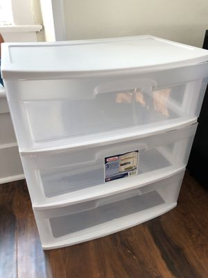 Plastic storage drawers for Sale in Seattle, WA