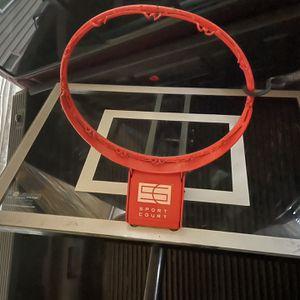 "Adjustable Portable Basketball with glass 48"" Backboard for Sale in Auburn, WA"