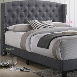 Rosemary Twin Full Queen King Size Platform Bed Frame by Crown Mark FROM👉$219 for Sale in Houston,  TX