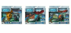 LOT King of the Monsters Godzilla Rodan Mothra King Ghidorah Action Figure Sets for Sale in Pompano Beach, FL