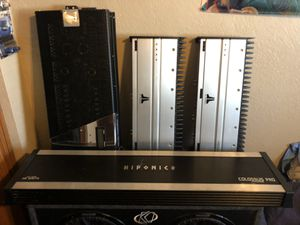 Jl audio, ma audio, hifonics for Sale in Phoenix, AZ