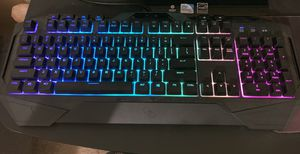 Light up computer keyboard for Sale in Corona, CA
