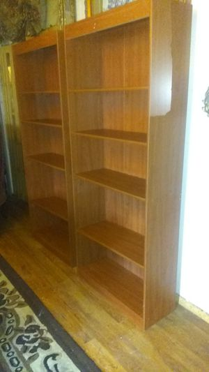 Book shelves 40.00 Ea. for Sale in Houston, TX