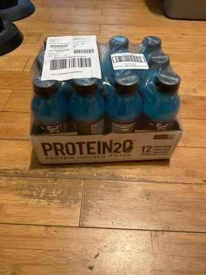 Protein infused water (12 pack) Raspberry Flavor for Sale in Irwindale, CA