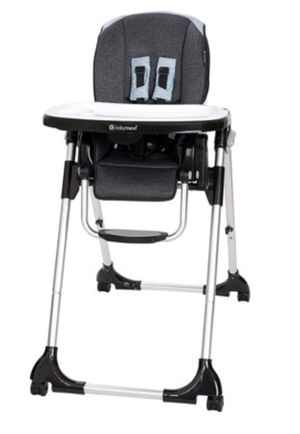 Baby Trend Go Gear Kid Cafe 5 in 1 Infant Baby Toddler Feeding High Chair & Tray for Sale in Houston, TX