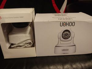 Two MEW I-CLOUD WI'FI CAMERAS for Sale in Nashville, TN