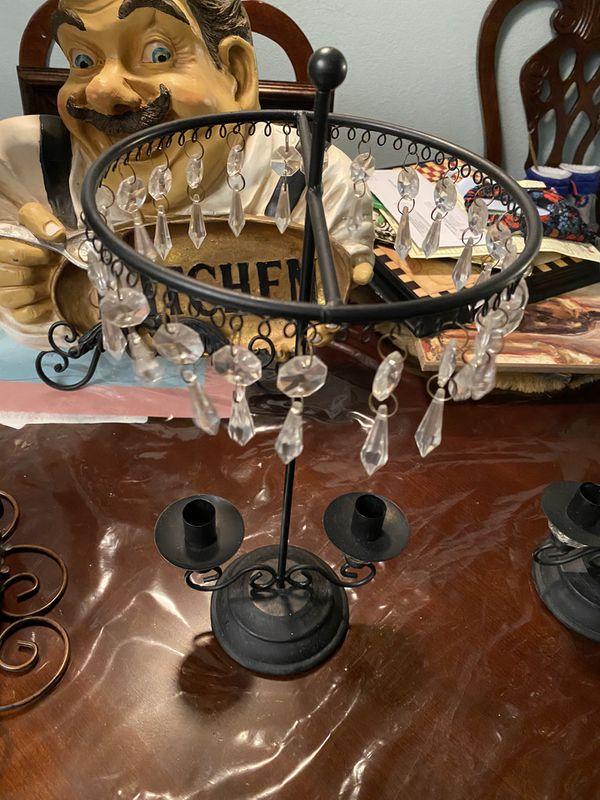 Elegantes candelabros parà mesas de centrò chimeneas comedor