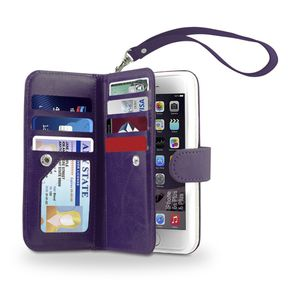 GearBeast Purple Leather Wallet Case for iPhone 6/6s for Sale in San Diego, CA
