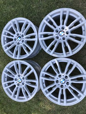 "BMW OEM 19 ""///M 403 style Rims/Wheels staggered freshly powder coated gray!!! for Sale in Los Angeles, CA"
