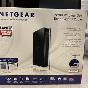 Netgear N900 Wireless Dual Band Router for Sale in Manor, TX