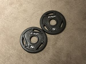 5-lb Olympic Weight Plates for Sale in Arlington, VA