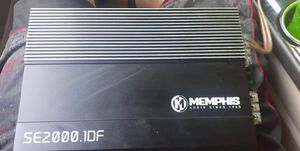 Memphis amp and db drive sub for Sale in Ravenna, OH