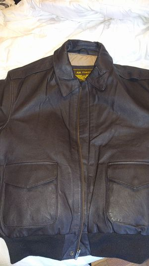 Air Force A2 Leather Flight Jacket Large for Sale for sale  Issaquah, WA