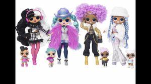Lol surprise winter disco omg dolls $55 each for Sale in El Cajon, CA