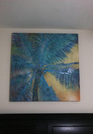 Palm tree picture for Sale in Harrisonburg, VA