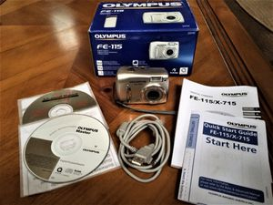 Olympus FE-115 5MP Digital Camera with 2.8x Optical Zoom for Sale in Woodstock, GA