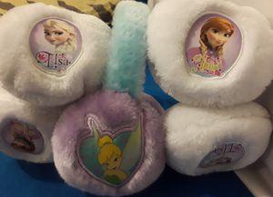 DISNEY GIRLS EAR WARMERS for Sale in Cambridge, MA