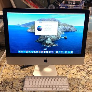 """Apple iMac Late 2012 21.5"""" Core i5 2.7GHz 8GB RAM Mac OS X Catalina Perfect Condition ! for Sale in Cleveland, OH"""