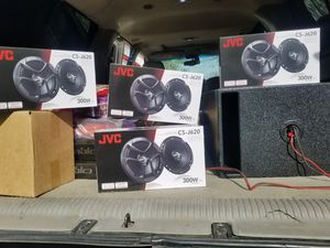 jvc 6.5 espeakers $25 each pair for Sale in Fort Worth, TX