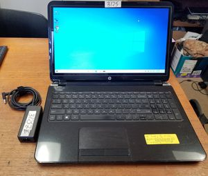 """Fixed Price: HP 15-r063nr 15.6"""" Touchscreen Laptop Intel Quad Core 4gb 500gb Win 10 Webcam #3125 for Sale in West Palm Beach, FL"""