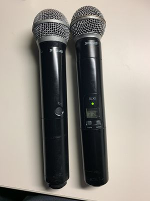 SURE MICROPHONES (no receiver) just mic for Sale in Hayward, CA