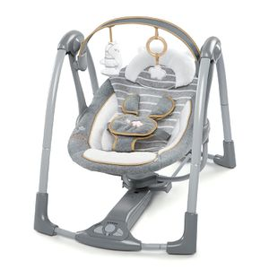 Ingenuity Boutique Collection Swing 'n Go Portable Swing - Bella Teddy for Sale in Tinley Park, IL