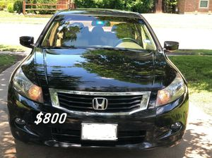 🙏🙏$8OO URGENT I sell my family car 2OO9 Honda Accord Sedan Super cute and clean in and out must !!!🙏🙏 for Sale in Richmond, VA