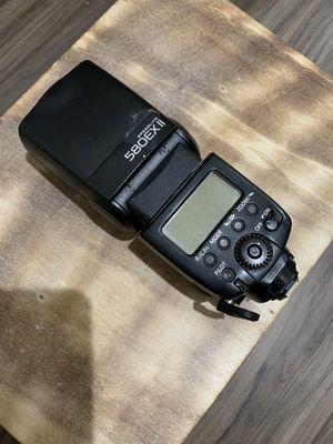 Canon Speedlite 580EX II for Sale in Las Vegas, NV